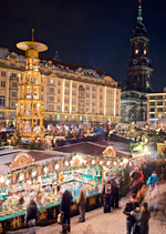 Striezelmarkt in Dresden