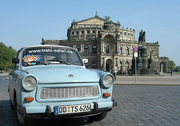 Trabi Safari - Dresden Theaterplatz