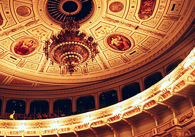 Semperoper Innenansicht